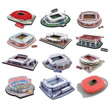 Football Club 3D Stadium Model Jigsaw Puzzle - Man Utd Liverpool Arsenal More