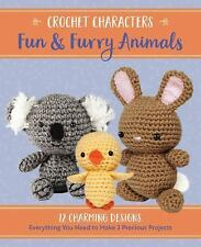 Crochet Characters Fun & Furry Animals. Makes 2 Projects. Brand New. Free Ship