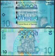 Billets de banque de l'Océanie, de Samoa