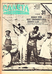 KING OLIVER,   LOUIS ARMSTRONG,  ROY ELDRIDGE  ,MILES DAVIS  Hungarian  magazine