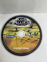 ATARI AXIS & ALLIES PC Computer Game Install Disk ONLY 2004