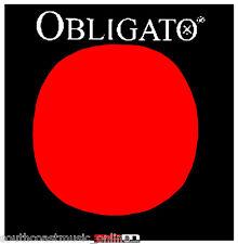 "Pirastro Obligato Standard Gold ""e"" Ball End 4/4 Full Size Violin String Set"