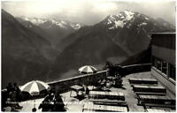 Terrassencafé Penken Bergstation alte Postkarte ~1950/60 bei Mayrhofen Zillertal
