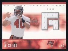 "2003 Upper Deck ""Game Jersey"" Game-Used Jersey MIKE ALSTOTT"