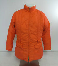Vintage Gerry Bright Neon Hunting Orange Down Filled Jacket Fast Shipping LOOK