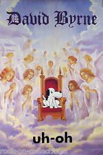 Talking Heads David Byrne 1992 Uh-Oh Original Promo Poster