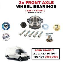 para Ford Transit 2.0 2.3 2.4 DI TDCi TDE 16v 2000-2006 RODAMIENTOS DE RUEDA
