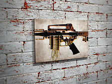 AR-15 X-Ray Canvas Print - AR-15 Pro-Gun Wall Art