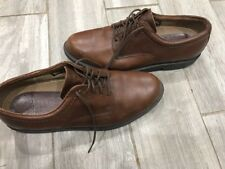 Rockport Mens Waterproof Brown Gore-tex Leather Upper Shoes Size 10.5