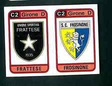 Figurina Calciatori Panini 1983-84! N.580! Scudetti Frattese/Frosinone! Nuova!!
