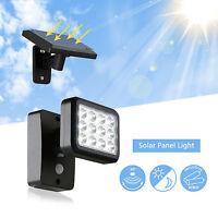 LED Solarlampe mit Bewegungsmelder 12 Solarleuchte Solar Leuchte Außenlampe