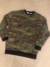 Mens Camoflage Sweatshirt - Small