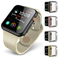 For Apple Watch iWatch Series 4 40mm/44mm Soft TPU Protector Case Cover Bumper