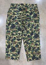 Vtg 70s 80s Field & Stream Camo Hunting NOS Jeans USA Pants XXL 46 X 32 2XL