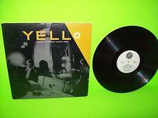 "Yello – Pumping Velvet / No More Words / Lost Again / Bostich Vinyl 12"" PROMO"