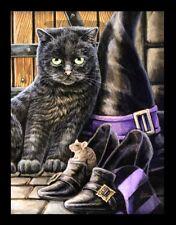 Kleine Leinwand Katze - Trouble & Squeak by Lisa Parker - Fantasy Druck Bild