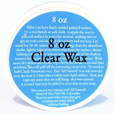 Chalk Paint Wax... Clear All Natural Furniture Wax (1) 8 oz tin of clear wax