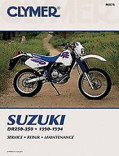 Manuales de reparación y servicios DR Suzuki