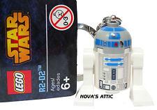 LEGO R2-D2 R2D2 LLAVERO MINIFIGURA NUEVO