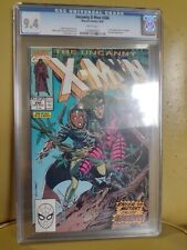 UNCANNY X-MEN # 266 CGC 9.4 MARVEL 8/1990 WHITE PAGES 1ST GAMBIT Storm on Cover