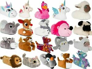 Womans Slippers | Novelty 3D Animal Slippers | Ladies Unicorn Slippers | SALE