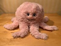 """Squishable Pink Octopus Plush Stuffed Animal 15"""" x 7""""  Squid Pillow ~ Adorable!"""