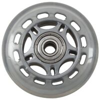 Skating Shoes 608ZZ Bearing Inline Skate Wheel Clear Gray D5D5