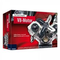 V8 Motor Lernpaket zum selber Bauen Sportwagen Bausatz Modellbau Franzis Verlag