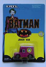 Rare Vintage BATMAN THE MOVIE JOKER'S VAN CARDED DIECAST MODEL MADE BY ERTL 1989