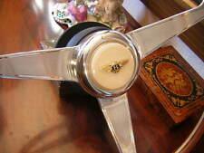 "Bentley Corniche 1971- 1989 Wood Steering Wheel NARDI 15"" engraved spokes NEW"