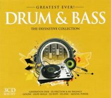 DRUM & BASS = Zinc/Friction/Goldie/Hype/Calibre/Logistics...=3CD= GREATEST EVER!