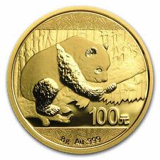 China 8 gram Gold Panda Bu (Random Year, Sealed) - Sku#207673