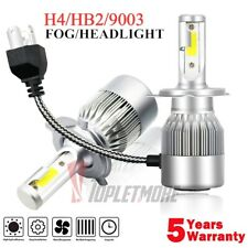 CREE H4 LED Headlight Kit Light Bulbs Hi/Lo Beam 6000K 9003 HB2 2000W 270000LM