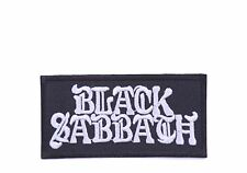 heavy metal patches iron on patch sew on patches music patches Black Sabbath