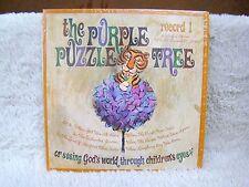 The Purple Puzzle Tree Record 1: 6 Colorful Stories Vinyl Album, Concordia Recs