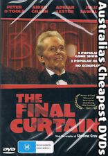 The Final Curtain DVD NEW, FREE POSTAGE WITHIN AUSTRALIA REGION ALL