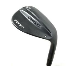 Cleveland RTX 4 Black Satin 64* Low Wedge Steel Right Hand - VERY GOOD