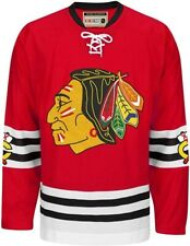CHICAGO BLACKHAWKS CCM JERSEY Authentic Throwback Team Classic Red Jersey XL