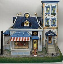 Vintage PartyLite Old World Village Toy Shoppe # 6 Tea light House