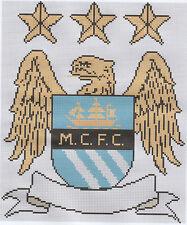 Man City  Eagle Football Counted Cross Stitch Kit