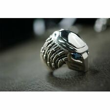 Heavy Solid 925 STERLING SILVER RING FOR THE PREDATOR Alien FANS SR810