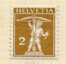 SWITZERLAND 1909 Early Issue Fine Mint Hinged 2c. 052453