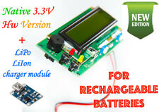 Geiger counter dosimeter 3.3V kit /w bat. charger Arduino IDE compat.  assembled