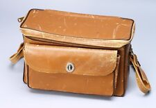 VINTAGE PERRIN LEATHER COWHIDE CAMERA CASE BAG 'THE SPORTSMAN' 503 LEICA ROLLEI