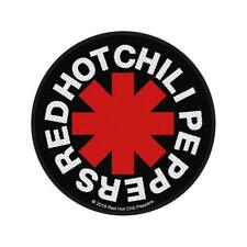 More details for official licensed - red hot chili peppers - asterisk sew-on patch rock