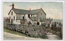 KIRKPATRICK-FLEMING KIRK: Dumfriesshire postcard (C16219)