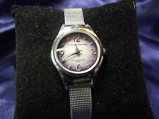 Woman's No Boundaries Watch with Purple Face **Nice** B22-405