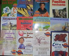 Summer Success Reading Spanish Leveled Readers Library 4th Grade Level 4 Great..