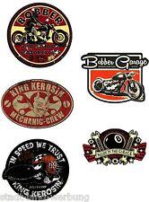 138  Set Bobber Aufkleber/Sticker/Rockabilly/Youngtimer/Retro/V8/Motorrad/US Car