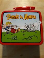 Dennis The Menace. Vintage Small Tin Lunch Box. 1998